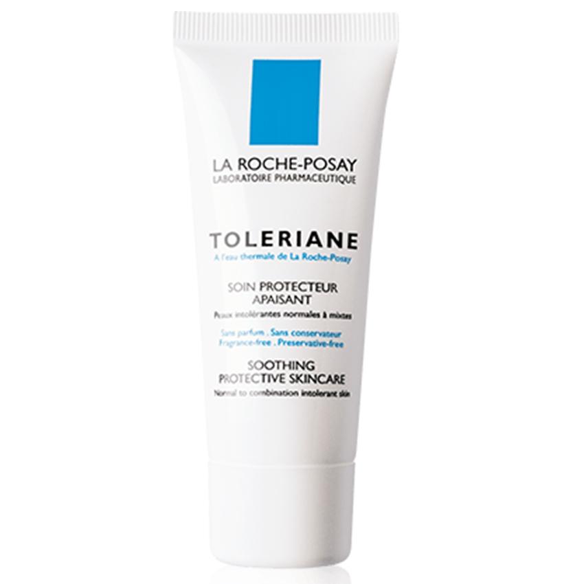 Laroche-Posay TOLERIANE Soothing Protective Skincare ขนาด 40ml. ลาโรช-โพเซย์ โทเลเรียน ซูทติ้ง โพรเทคทีฟ สกินแคร์ ครีมบำรุงผิวสำหรับผิวธรรวมดา-ผิวแห้ง ขนาด 40 มล.
