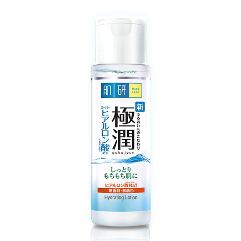 Hada Labo Super Hyaluronic Acid Moisturizing Lotion 170 ml. ฮาดะ ลาโบะ เอสเอชเอ ไฮเดรตติ้ง โลชั่น 170 มล. (สีขาว)