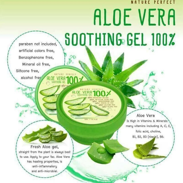 Nature Rupublic Soothing & Moisture Aloe vera 92% Soothing Gel เจลว่านหางจระเข้
