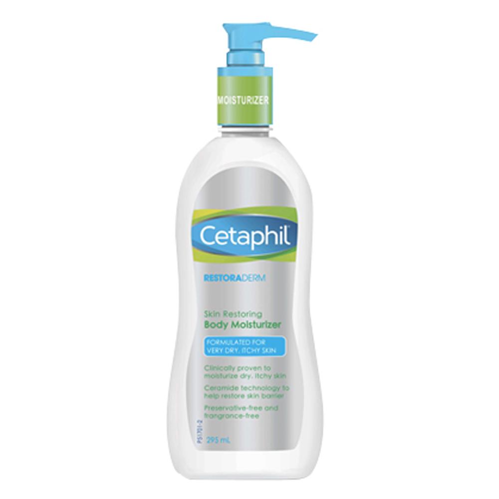 Cetaphil Restoraderm Skin Restoring Body Moisturizer 295 ml. เซตาฟิล รีสโตเรเดิร์ม สกิน รีสโตริ่ง บอดี้ มอยส์เจอไรเซอร์