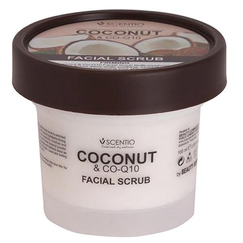 Beauty Buffet Scentio Coconut &Co-Q10 Facial Scrub 100ml สครับขัดผิวหน้า