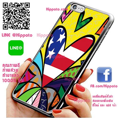 เคส ไอโฟน 6 / เคส ไอโฟน 6s ภาพอาร์ท หัวใจ US เคสสวย เคสโทรศัพท์ #1135