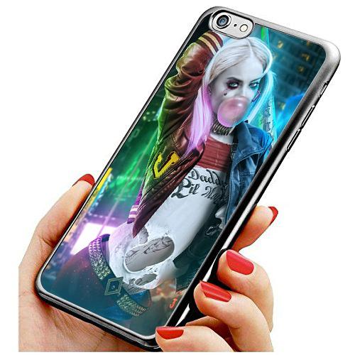 เคส iphone 6 / 6s Harley Quinn เป่าหมากฝรั่ง