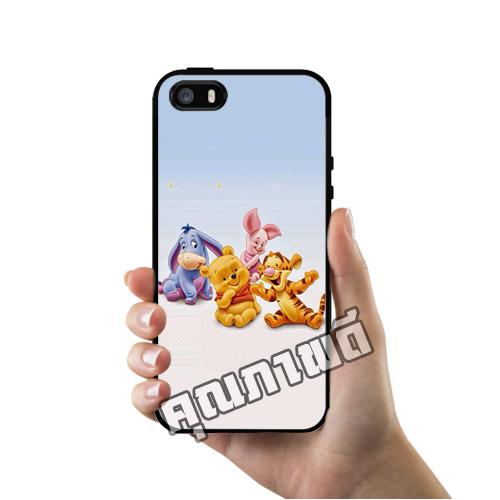 เคส ซัมซุง iPhone 5 5s SE เบบี้ พูห์ และเพื่อนๆ น่ารัก เคสน่ารักๆ เคสโทรศัพท์ เคสมือถือ #1236