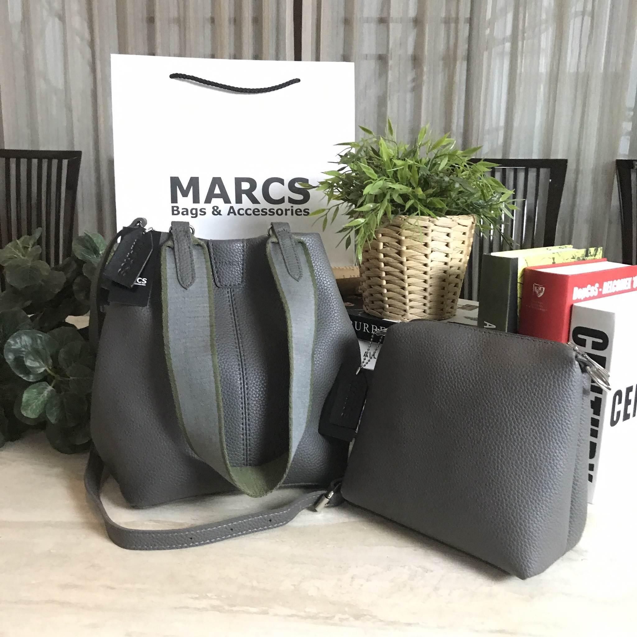 MARCS 2WAYS SHOULDER BAG 2018 *สีเทา