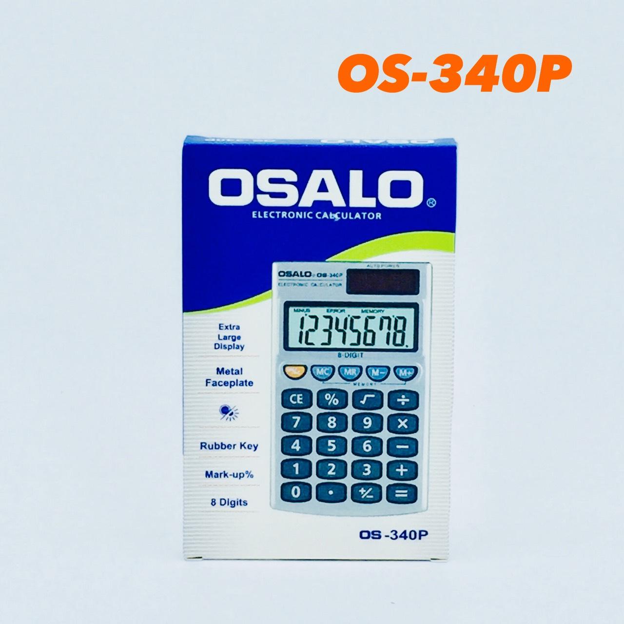 เครื่องคิดเลขจีน osalo รุ่น OS-340P