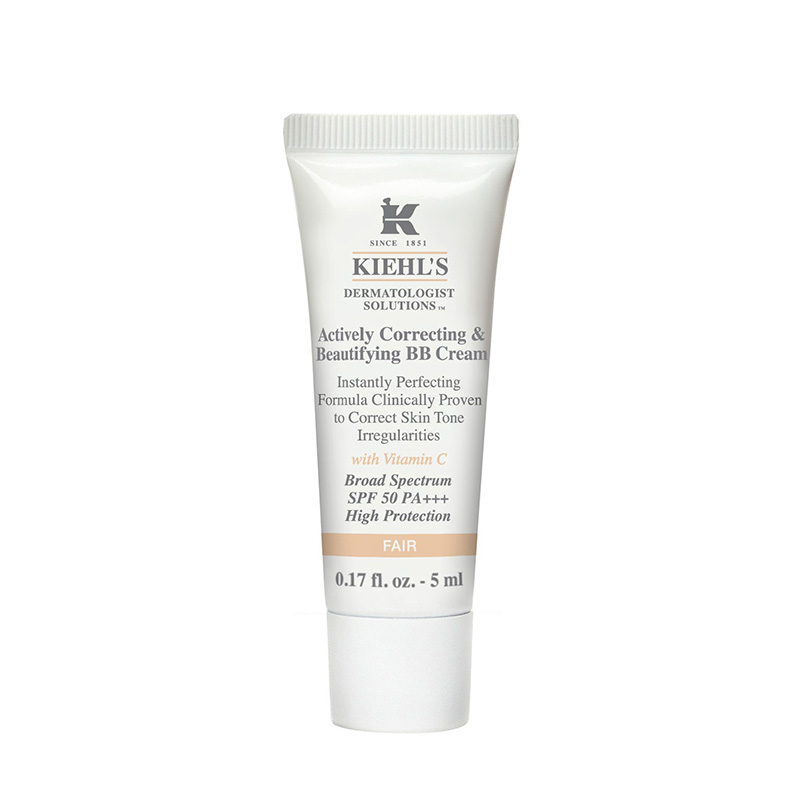 *TESTER* Kiehl's Actively Correcting & Beautifying BB Cream 5ml #Fair