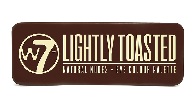 W7 Eye Colour Palette 15.6g #In The Buff: Lightly Toasted
