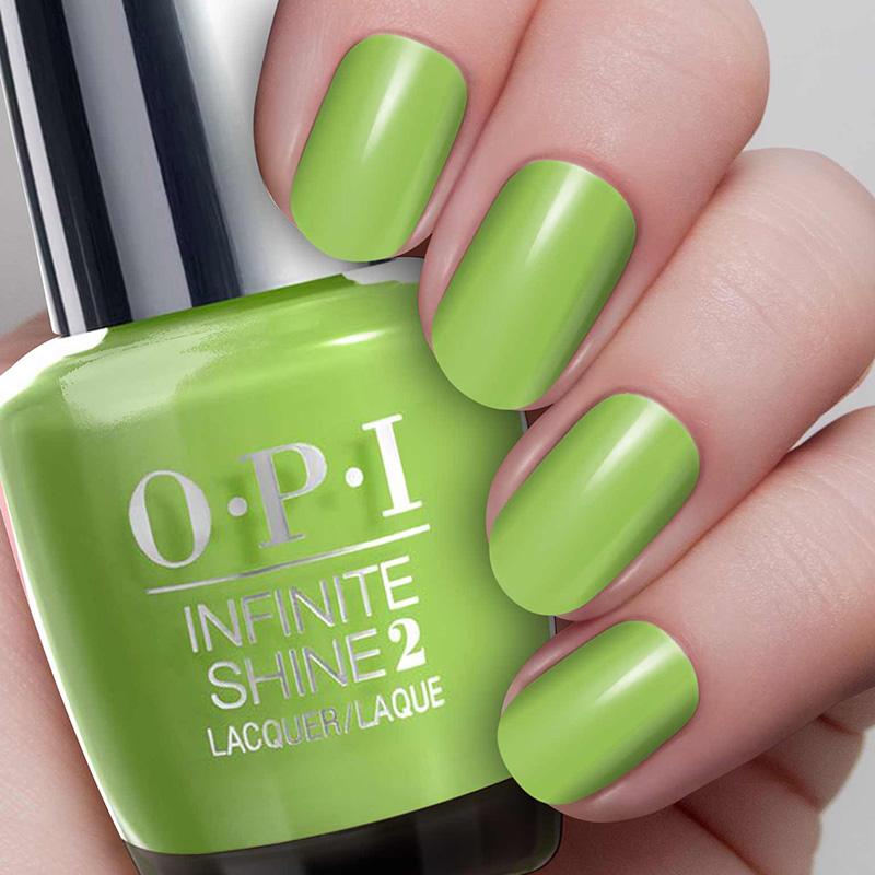 O.P.I Infinite Shine 2 Nail Lacquer 15ml #To the Finish Lime