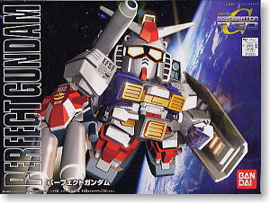 bb236 Perfect Gundam (SD) (Gundam Model Kits)