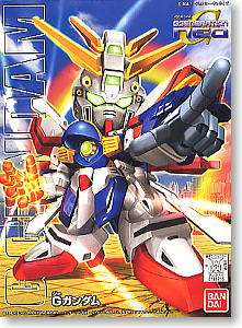 242 GF13-017NJII G Gundam (SD) (Gundam Model Kits)