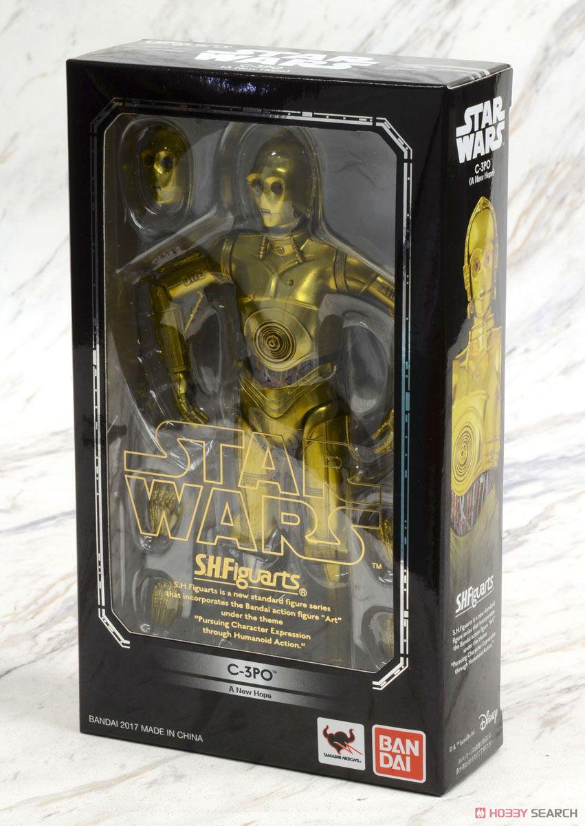 (มี1รอเมลฉบับที่2 ยืนยันก่อนโอนเงิน ) ล็อต Jp S.H.Figuarts C-3PO (A New Hope) (Completed)