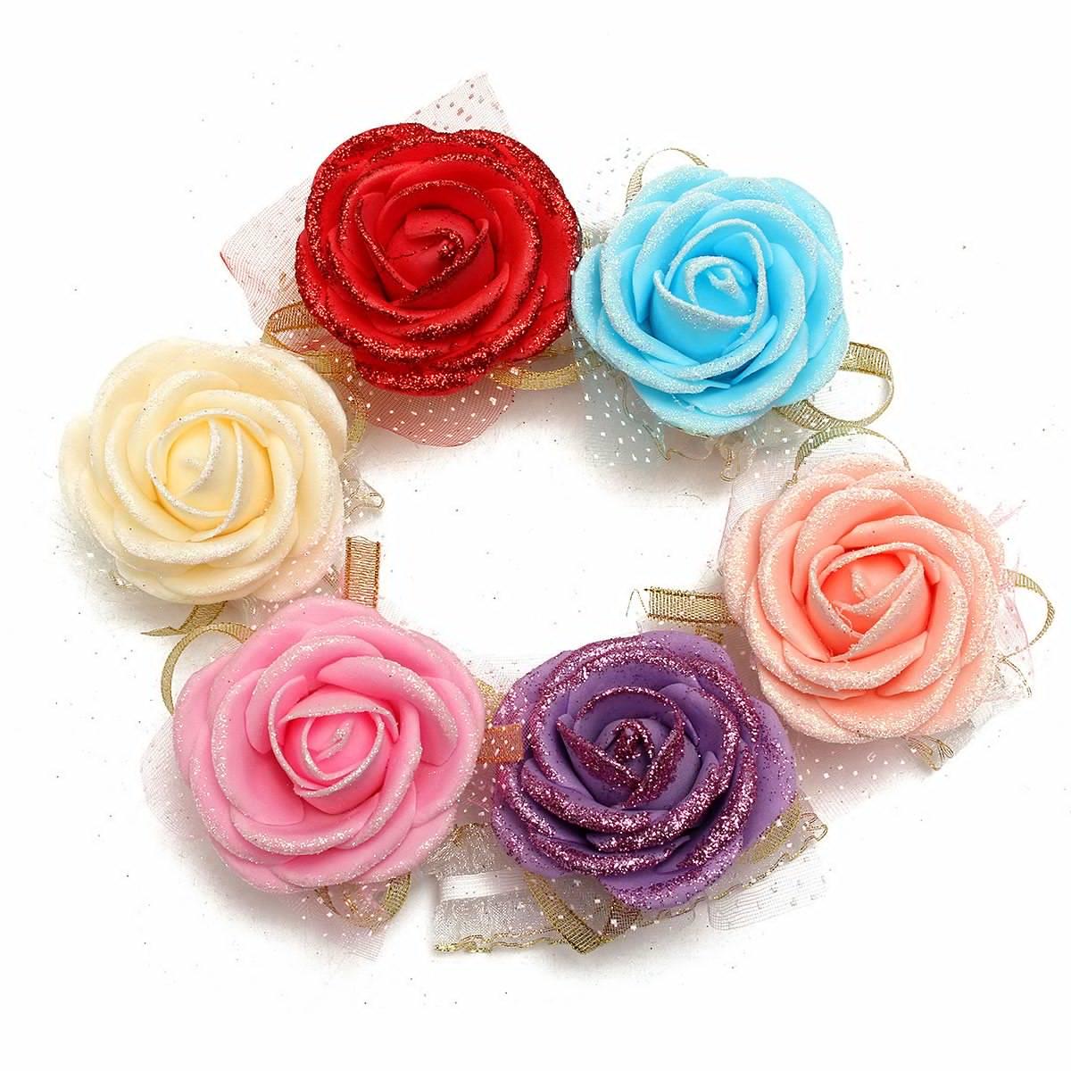 ช่อดอกไม้ผูกข้อมือน่ารักๆ ผูกข้อมือเพื่อนเจ้าสาว, งานปัจฉิม ,ปาร์ตี้ เข้าธีมงาน สั่งทำได้ทุกโทนสีนะคะ งานคุณภาพ ราคาถูกมากก 20 บ. ถูกมากก 🎈🎀🎁🎈🎀🎁🎈🎀🎁🎈🎀