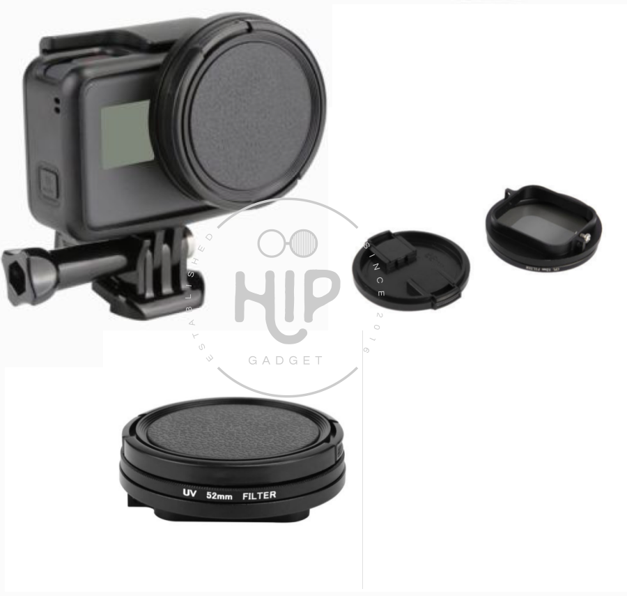 Adapter+uv filter for Goproรุ่น 5/6/Hero2018