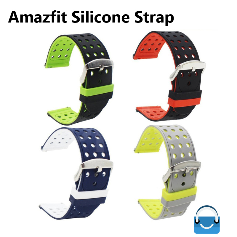 สายนาฬิกา Amazfit รุ่น AS3 ยางซิลิโคน