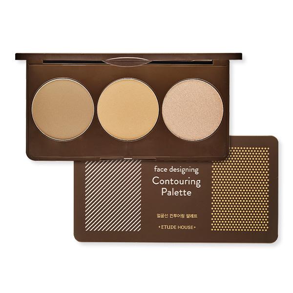 [Preorder] Etude facial contouring palette สี# 2 pink brown