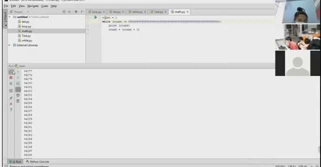 Raspberry Pi Online คาบที่ 4 เรื่อง การเชื่อมต่อ Input-Output การใช้คำสั่ง Loop (for/while) ตอน 3/4