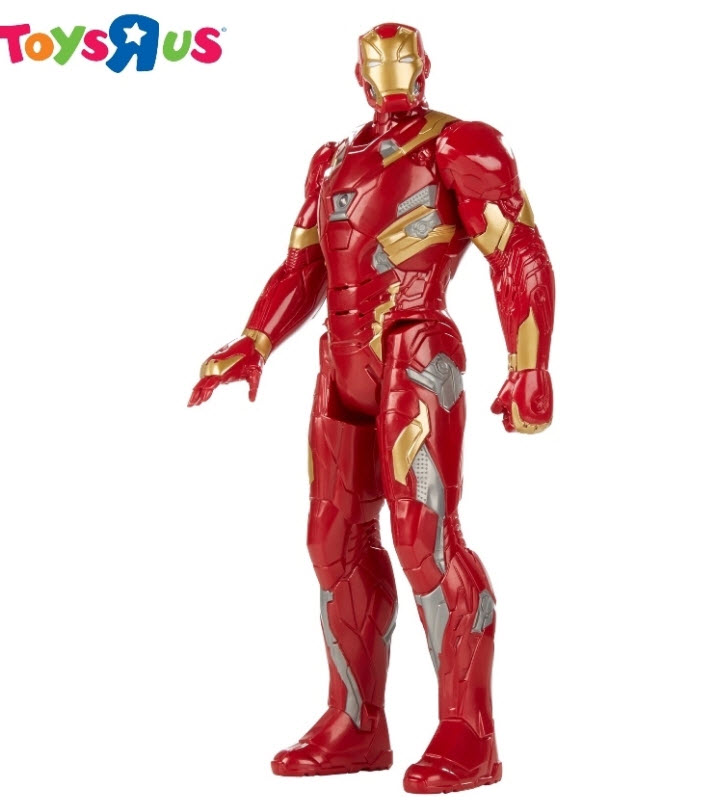 Hasbro Marvel Captain America : Civil War Titan Hero Series IronMan Electronic Figure