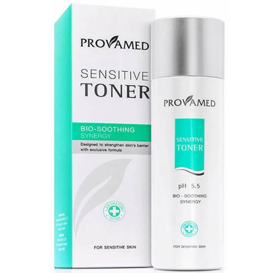 Provamed Sensitive Toner 200ml โทนเนอร์สำหรับผิวแพ้ง่าย