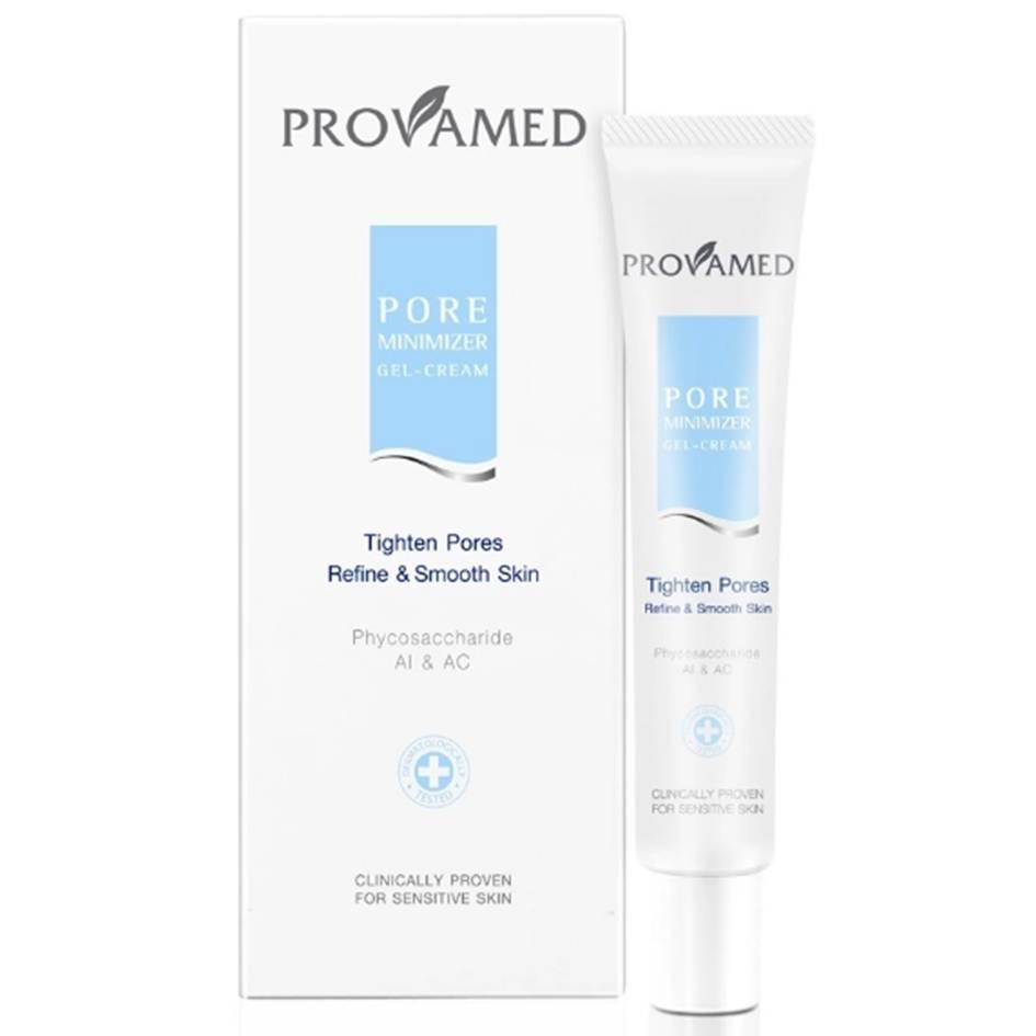 Provamed Pore Minimizer Gel-Cream 20g โปรวาเมด พอร์ มินนิไมเซอร์ เจล-ครีม กระชับรูขุมขน