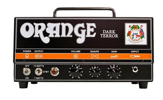 Orange Dark Terror DA-15H Tube Head Amp