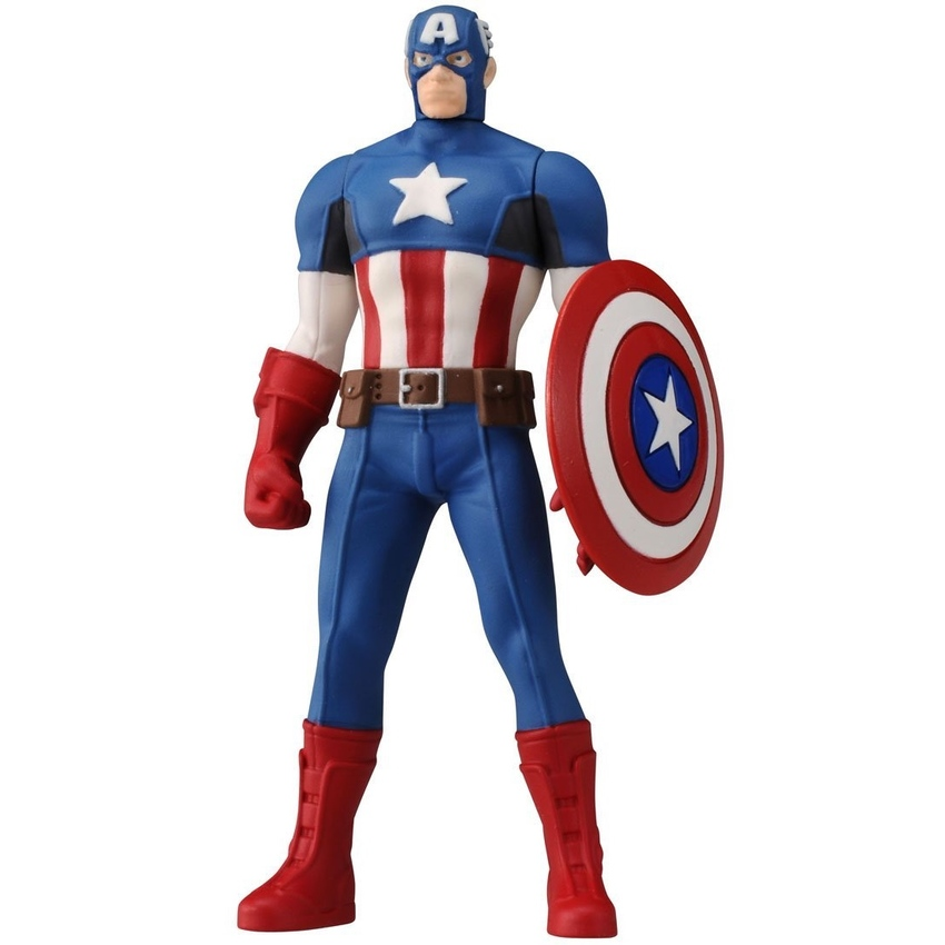 Tomy Marvel Captain America (Blue)