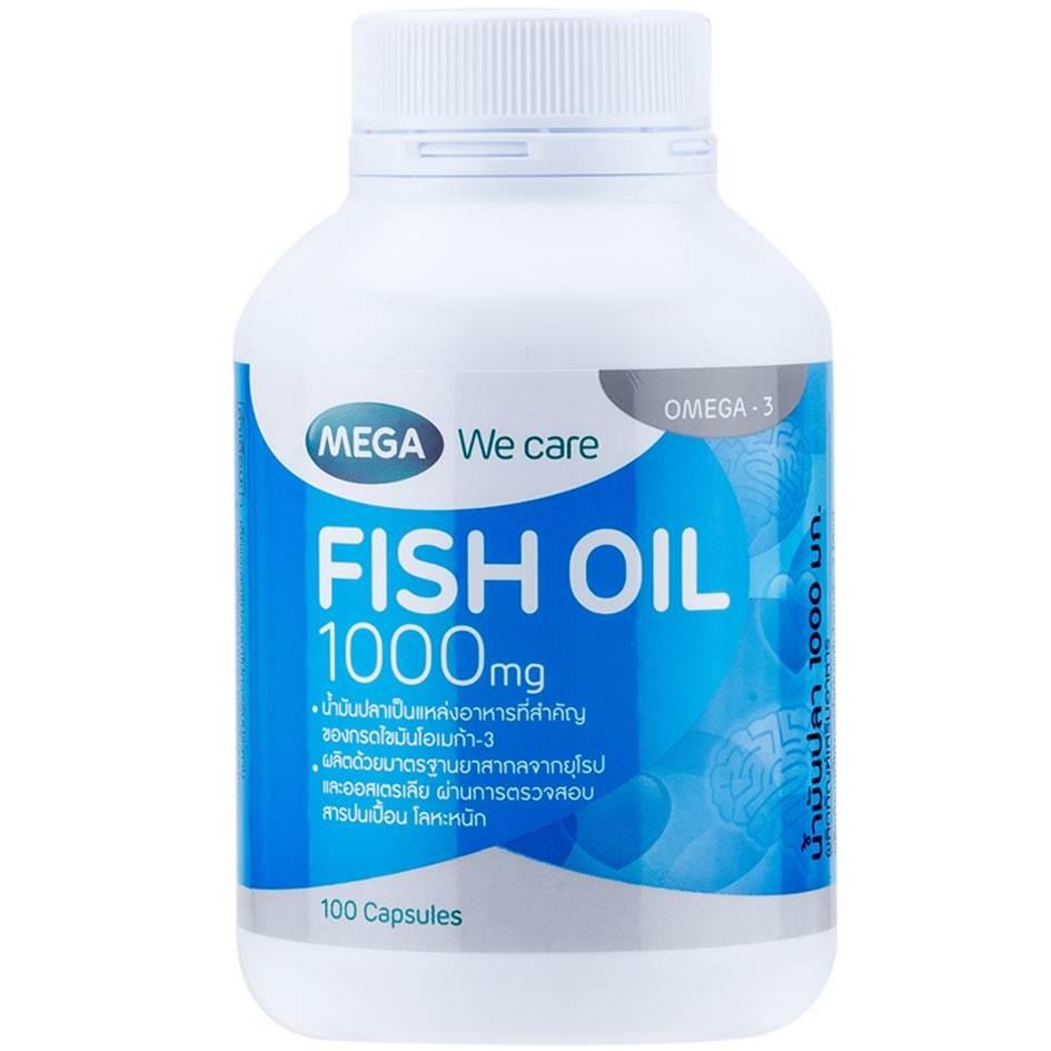 MEGA Fish 1000mg 100 เม็ด