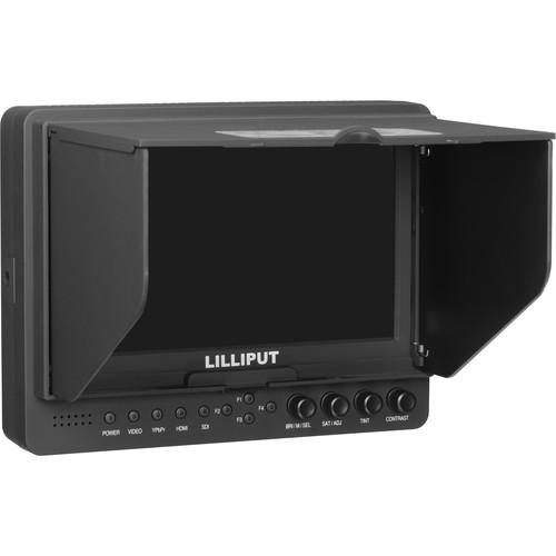จอมอนิเตอร์ Lilliput 665/O/P Peaking Focus Video Monitor