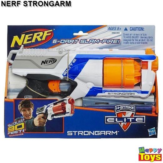 ปืนเนิร์ฟ Nerf N-strike Elite Strongarm ปืนเนิร์ฟแบบลูกโม้ยิงได้ต่อเนื่อง