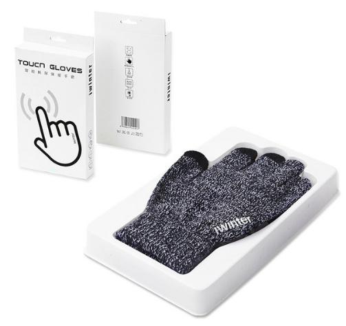 iWinter touch glove ถุงมือทัชกรีนได้ (ผู้ชาย/สีเทา)