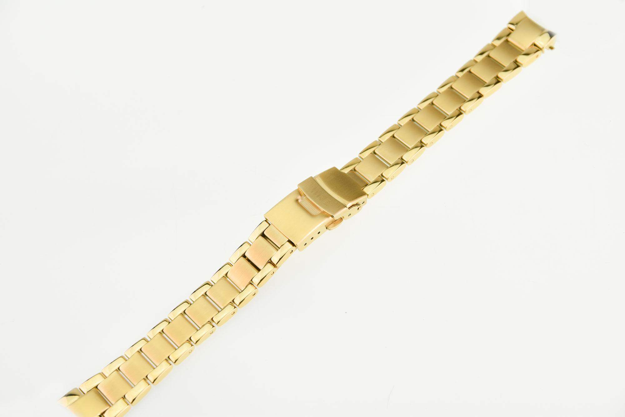 สายสแตนเลสสีทอง ขนาดรุ่น 32 mm.