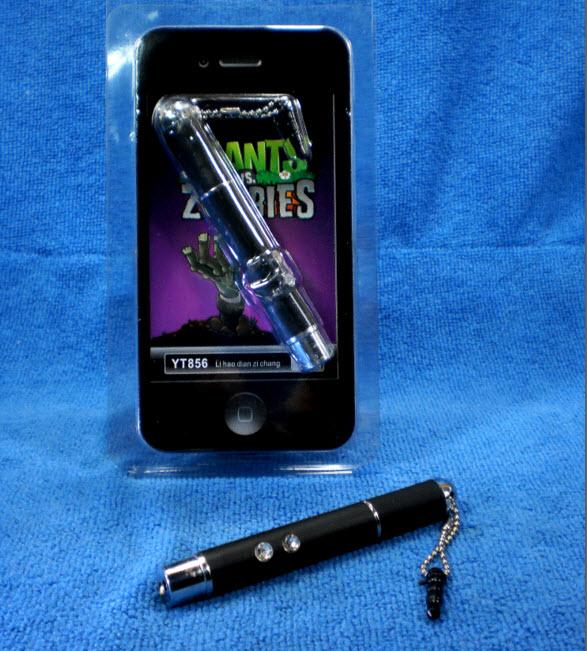 Touch Pen, Laser Pointer, Flashlight 3 in 1 YT856