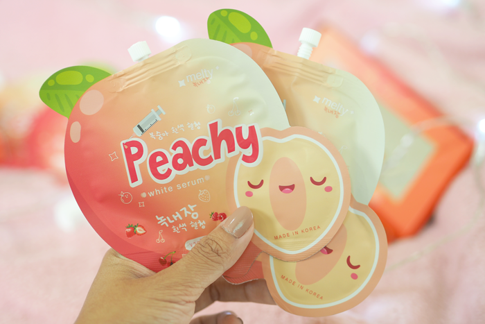 Peachy White Serum เซรั่มลูกพีชเกาหลี ราคาปลีก 40 บาท / ราคาส่ง 32 บาท