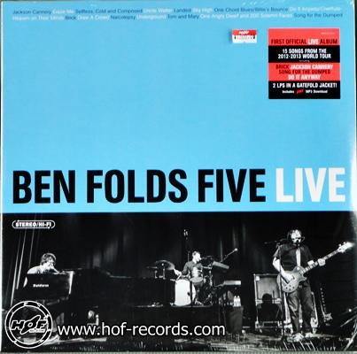 Ben Folds Five Live 2 LP ( NEW )