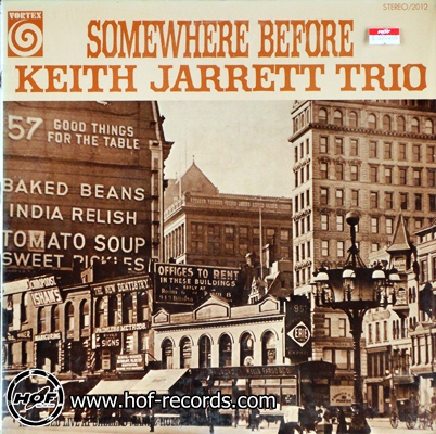 Keith Jarrett Trio - somewhere before 1lp