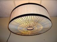 โคมไฟหวายแบบแขวนเพดาน Rattan Ceiling Lamp (RCL006)