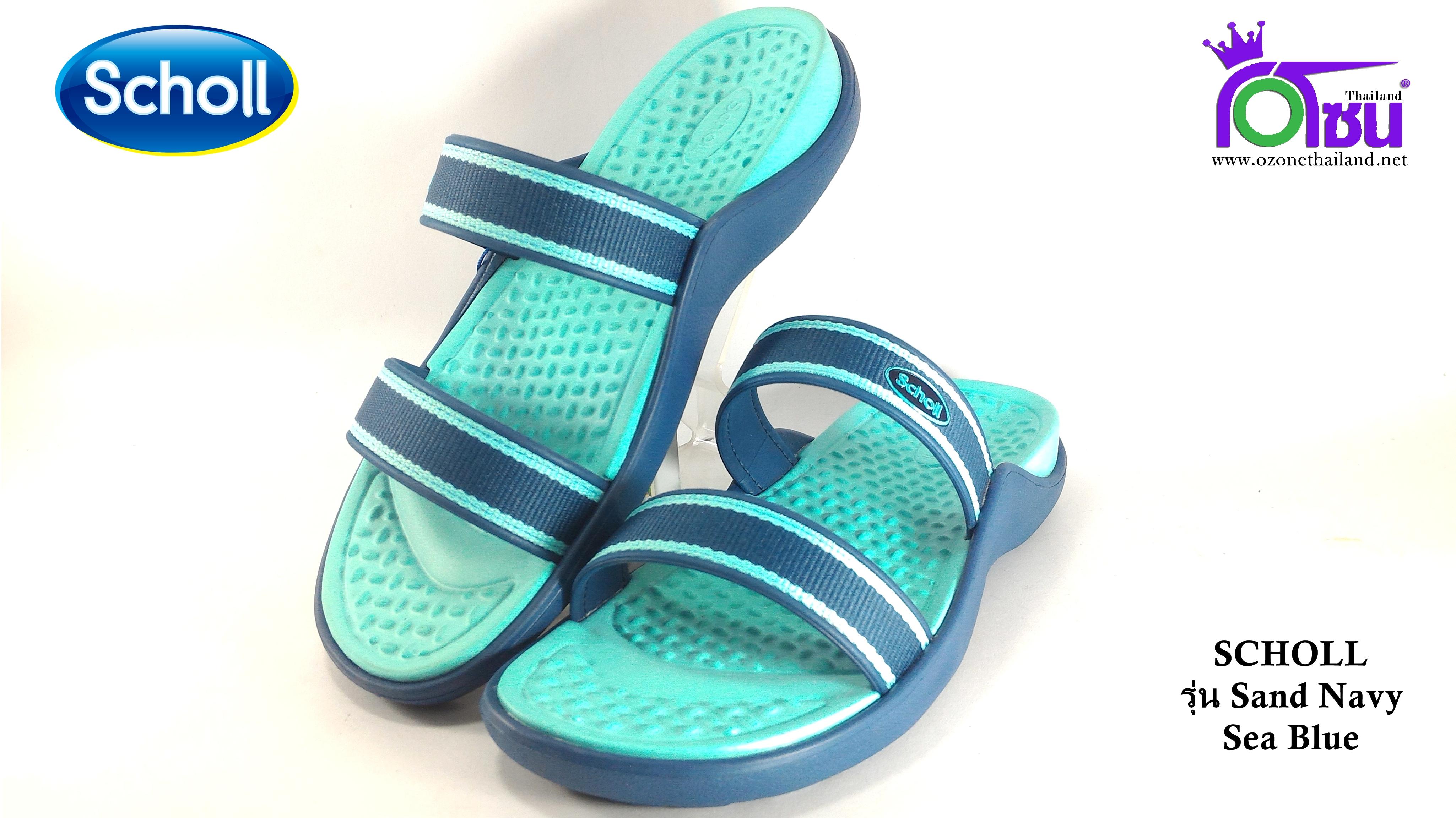 รองเท้า scholl sand สกอล์แชนด์ สีกรม เบอร์2-6