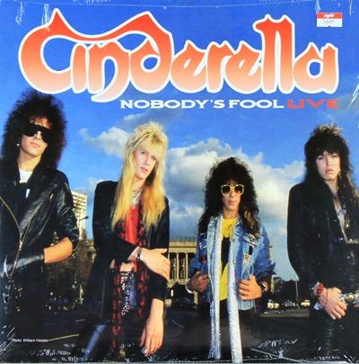 Cinderella - Nobody's Fool Live 1Lp N.