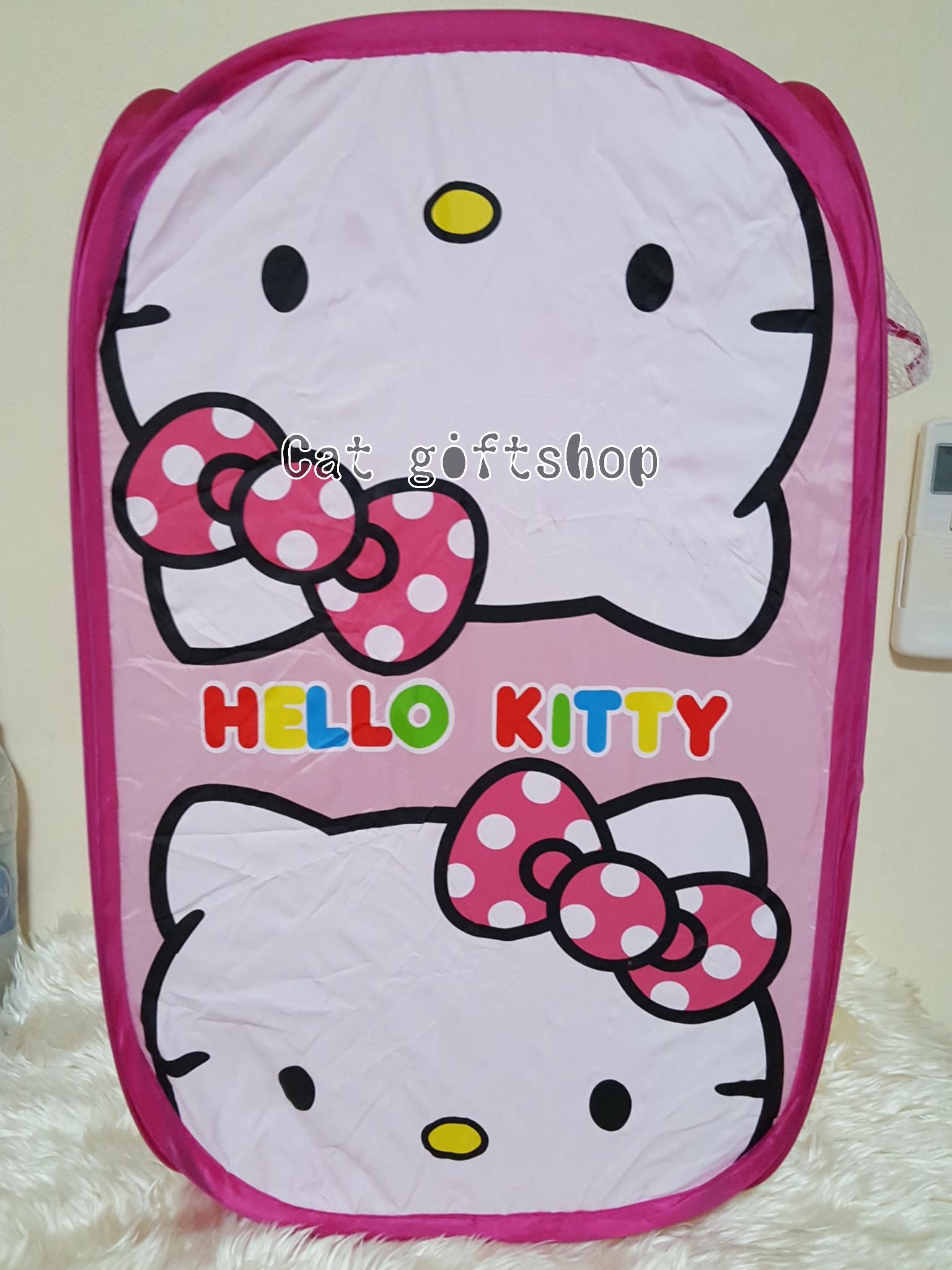 พร้อมส่ง :: ตะกร้าตาข่าย พบได้ ลาย Hello kitty 2