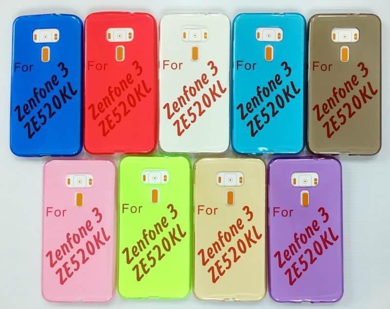 เคสAsus Zenfone 3(ZE520KL) 5.2 นิ้ว เคสนิ่มใส