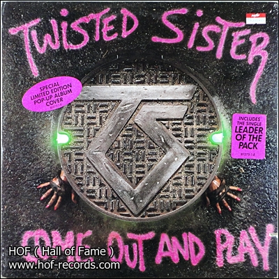 Twisted Sister - Come out and Play 2 LP New