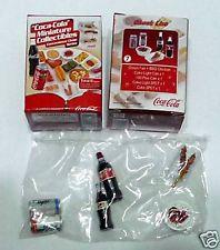 COCA COLA Minitaure Convenience Store DRINK FOOD set 7