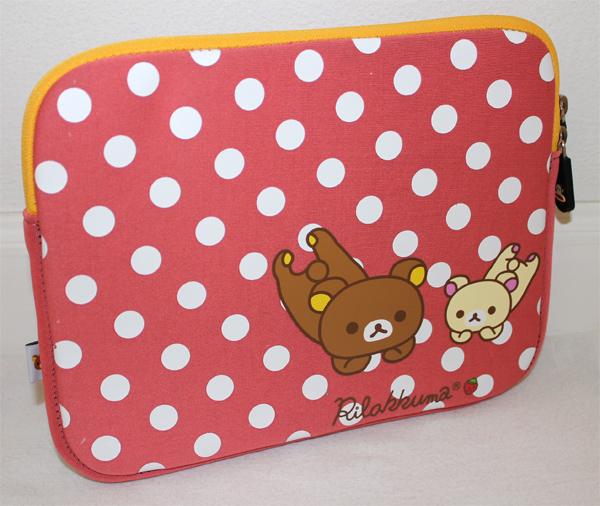 ** พร้อมส่งค่ะ ** กระเป๋า iPad Rilakkuma สีชมพู