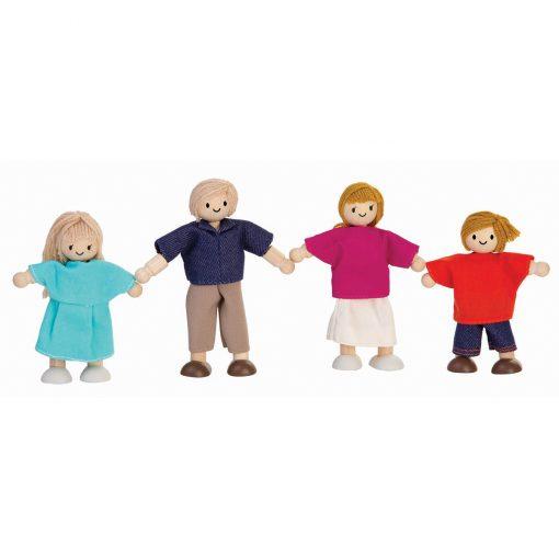 ของเล่นไม้ ของเล่นเด็ก ของเล่นเสริมพัฒนาการ Doll Family (European) ครอบครัวตุ๊กตา (ส่งฟรี)
