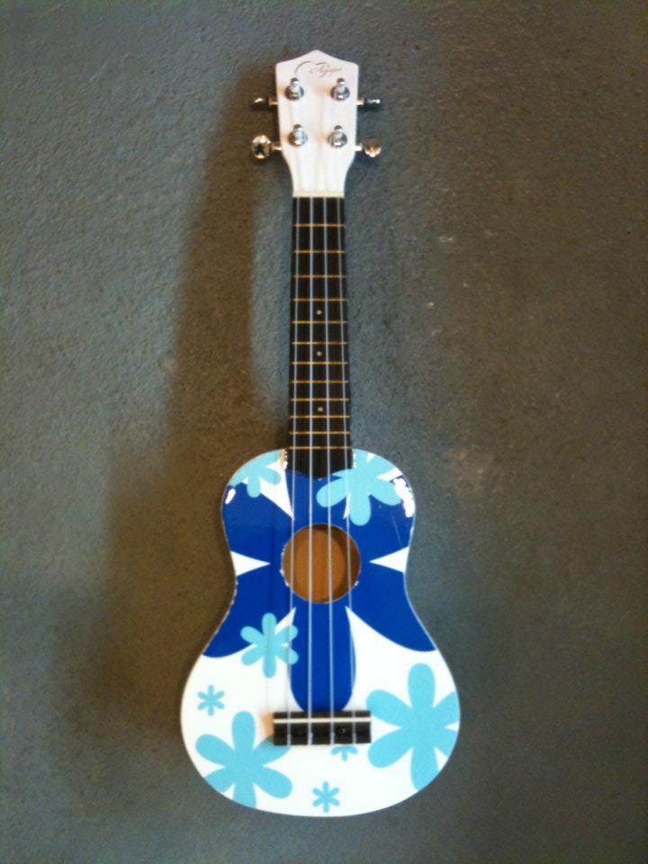อูคูเลเล่ Ukulele Agape Variety Blue Soprano