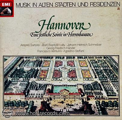 Hannover - Musik In Alten Stadten Und Residenzen 1lp