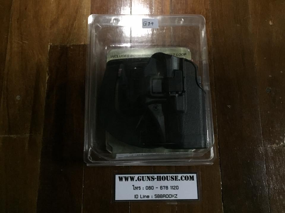 ซองปืนโพลิเมอร์Glock19 BlackHawk