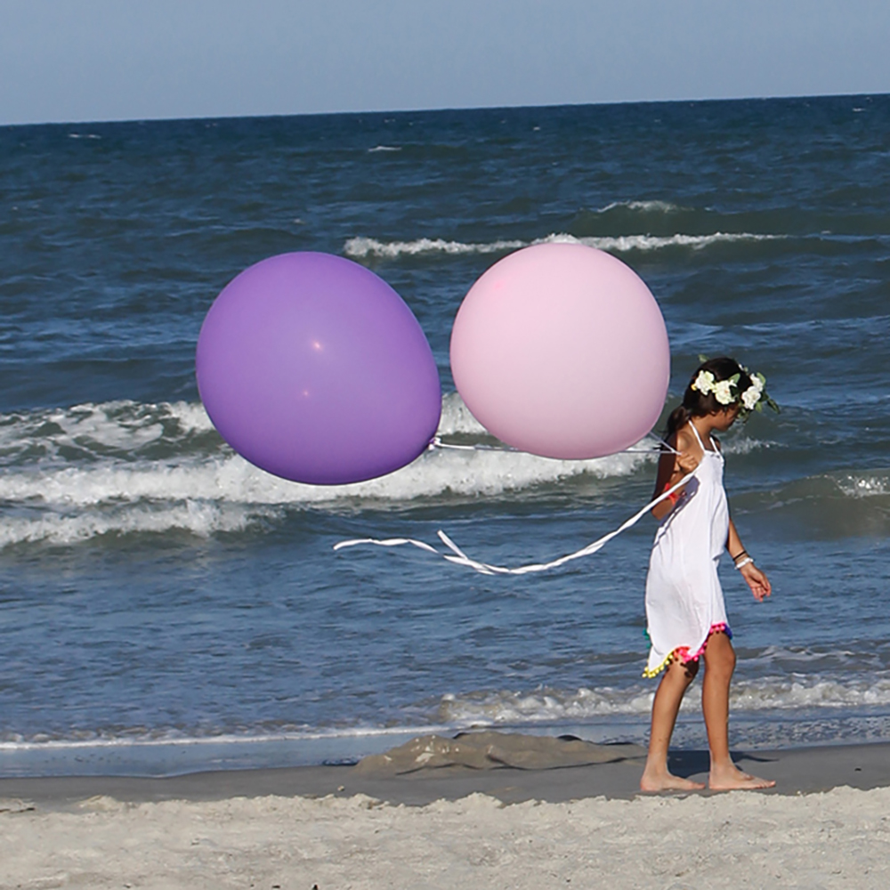 ลูกโป่งจัมโบ้ สีม่วง ขนาด 36 นิ้ว - Round Jumbo Balloon Purple