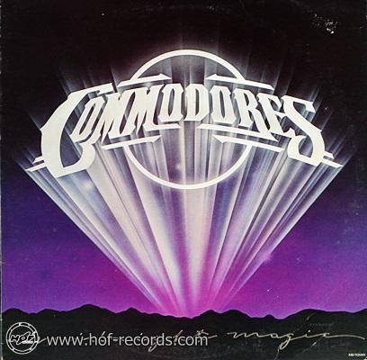 Commodores - Midnight Magic 1979 1lp