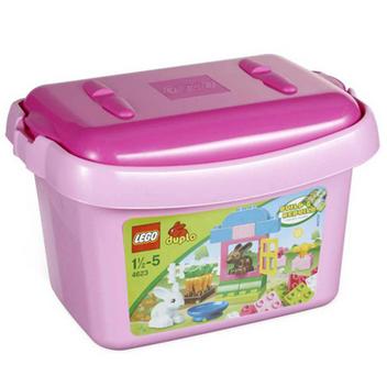 ชุดตัวต่อ LEGO DUPLO PINK BRICK BOX 204623 [ส่งฟรี]
